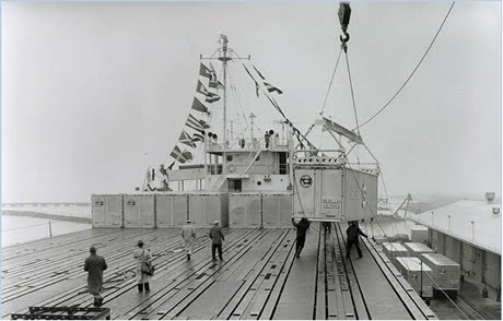 Η ιστορία των πλοίων μεταφοράς εμπορευματοκιβωτίων (container ships)