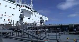 Βόλτα στο κατάστρωμα ενός δεξαμενόπλοιου [video]