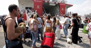Μείωση 8,9% σημείωσε η διακίνηση επιβατών στους ελληνικούς λιμένες