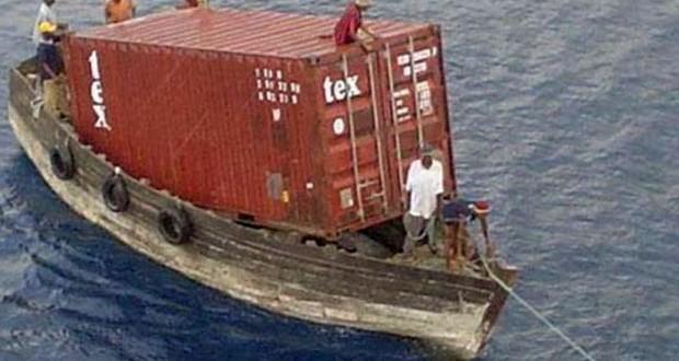 Αυτό είναι container ship!!!