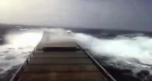 Συγκλονιστικό βίντεο που μας δείχνει την δύναμη της θάλασσας! [video]