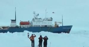 Με ελικόπτερο θα γίνει η διάσωση από την Ανταρκτική [video]
