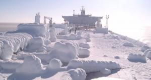 Frozen ship!