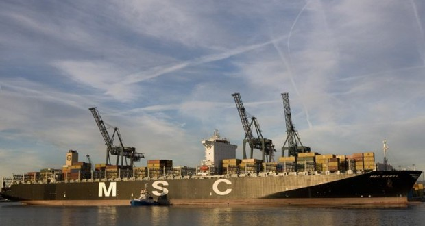 World's First EEDI certified super – large container vessel!
