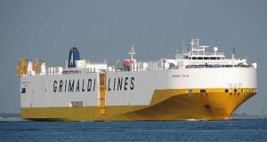 H Μinoan αναλαμβάνει τα Ro-Ro της Grimaldi στον Πειραιά