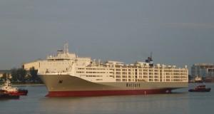 Μηχανική βλάβη σε πλοίο μεταφοράς ζώντων ζώων
