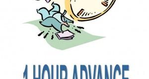 Και μην ξεχάσετε…» Ship's clock will be advanced by one hour»