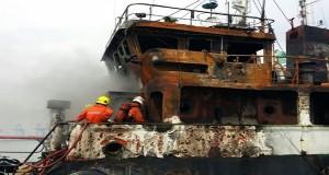 Φωτιά σε χημικό δεξαμενόπλοιο