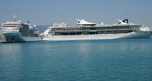 72 κρουαζιερόπλοια τον Αύγουστο στην Κέρκυρα