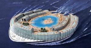 Πλωτό νησί ή κρουαζιερόπλοιο;