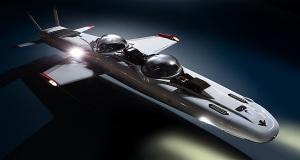 DeepFlight Super Falcon: Το υποβρύχιο που ''πετάει'' μέσα στο νερό [vid+pics]