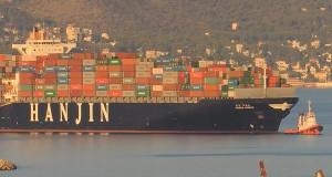 Πάνω από 10 πλοία Container επισκέφτηκαν τον Πειραιά το Σάββατο [vid]
