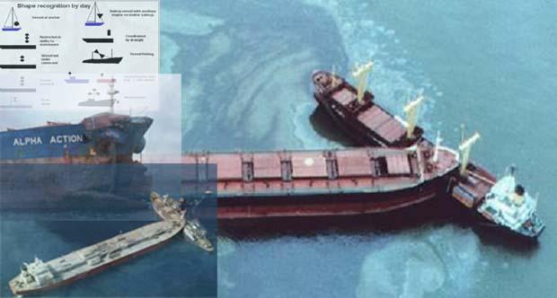 Τα αρχικά «Μ.Ι.Α.Π.Α.» και η σημασία τους στην αποφυγή συγκρούσεων στη θάλασσα [pics]