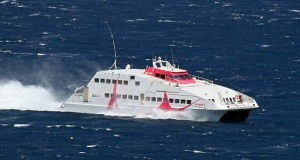Δεν έπιασε το «SEA JET 2» στη Φολέγανδρο λόγω κακοκαιρίας
