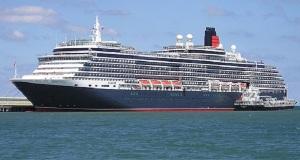 Το «Queen Elizabeth» στο λιμάνι του Ηρακλείου