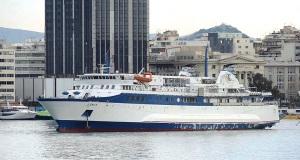 Έφθασε στο λιμάνι του Πειραιά το «Ιονίς» [video]