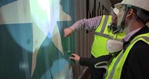 Το βάψιμο ενός κοντέινερ στη βιομηχανία της Maersk [video]