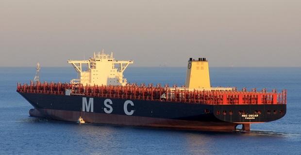 MSC Oscar: Ο προσωρινός «βασιλιάς» των γιγαντιαίων containership[vid]