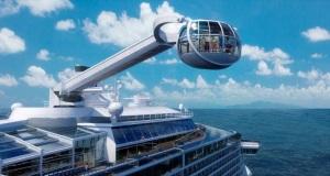 Ρομπότ σερβιτόροι και… ελεύθερη πτώση στο πιο «έξυπνο» κρουαζιερόπλοιο στον κόσμο[vid+pics]