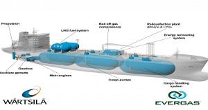 """Η Evergas παρέλαβε το πρώτο """"Dragon"""" πλοίο μεταφοράς αερίων"""