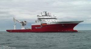 Πυρκαγιά σε πλοίο ερευνών