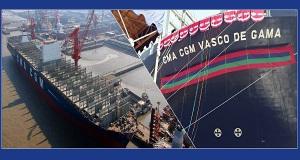 Παραδόθηκε στη CMA CGM το μεγαλύτερο container ship Κινέζικης κατασκευής