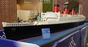 Queen Mary: Το μεγαλύτερο Lego πλοίο παγκοσμίως