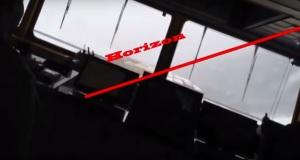 Κόβει την ανάσα το βίντεο με πλοίο κοντέινερ που παίρνει 40 μοίρες κλίση στον Β. Ατλαντικό!