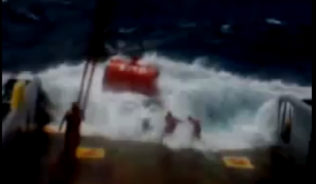 Γιατί τίποτα στην θάλασσα δεν είναι εύκολο…[βίντεο]