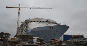 Μια πρώτη ματιά στο μεγαλύτερο κρουαζιερόπλοιο όλων των εποχών