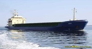 Κράτηση φορτηγού πλοίου στο Μεσολόγγι