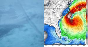 Σε ισχυρή καταιγίδα έπεσε κρουαζιερόπλοιο με 4,180 επιβάτες!- Με ζημιές καταφθάνει στο λιμάνι (video+Pics)