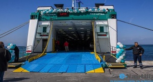 Το επιβατηγό πλοίο «ΙΟΝΙΣ» άλλαξε χέρια αλλά παραμένει στη γραμμή Πειραιά – Αίγινας [pics]