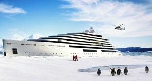 Η Crystal Cruises ετοιμάζει το μεγαλύτερο μεγα-γιοτ για πολικές περιοχές