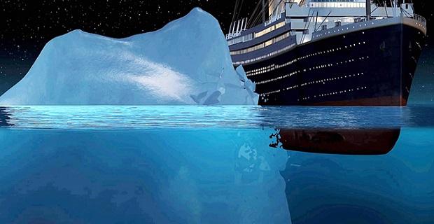 Ένα αρχαίο παγόβουνο πιθανότατα διέλυσε τον Τιτανικό