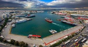 Μειώθηκε η διακίνηση επιβατών και εμπορευμάτων στους λιμένες