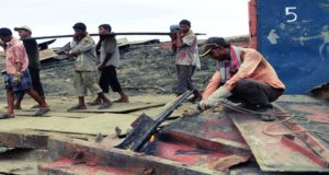 Σερί θανάσιμων εργατικών ατυχημάτων στα διαλυτήρια πλοίων του Μπαγκλαντές