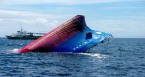 Βύθιση πλοίου μετά από σύγκρουση στην Ιαπωνία (video)