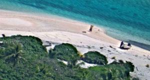 Ναυτικοί σώθηκαν γράφοντας SOS στην άμμο