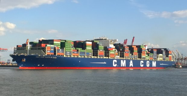 Containership 18.000 TEU προσάραξε στη Μεγάλη Βρετανία