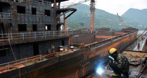 Η κινέζικη επαρχία Chongqing μειώνει τις ναυπηγικές της δραστηριότητες