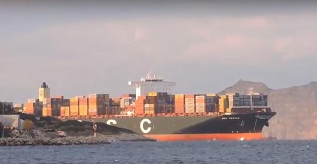 Το τεράστιο MSC VENICE για πρώτη φορά στον Πειραιά [video]