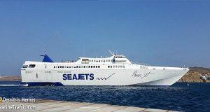 Πρόσκρουση πλοίου στην προβλήτα του Πειραιά
