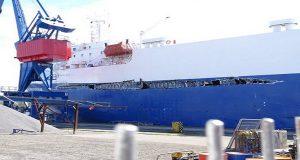 Ro-Ro έπεσε πάνω σε containership στο κανάλι του Κιέλου