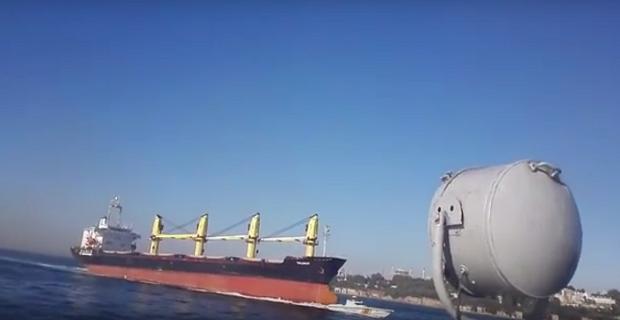 Όταν Ρώσικο φορτηγό πλοίο βύθιζε την Τουρκική ακτοφυλακή στα στενά του Βοσπόρου [βίντεο]
