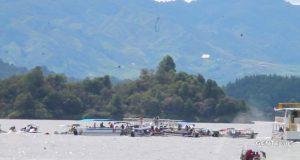 Πολύνεκρο δυστύχημα από βύθιση τουριστικού σκάφους στην Κολομβία (video)