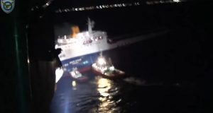 Βίντεο: Η διάσωση των ναυτικών του «MED STAR»
