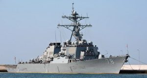 Αναχώρησε το αντιτορπιλικό USS Porter από το λιμάνι του Πειραιά [βίντεο]