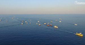 Η εντυπωσιακή δια θαλάσσης μεταφορά της εικόνας του Αγίου Αιμιλιανού στη Χίο[βίντεο]