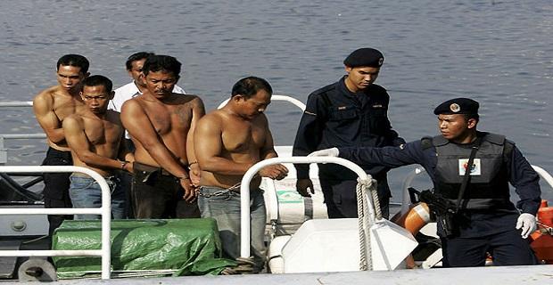 Η Μαλαισία στέλνει 11 πειρατές στην φυλακή